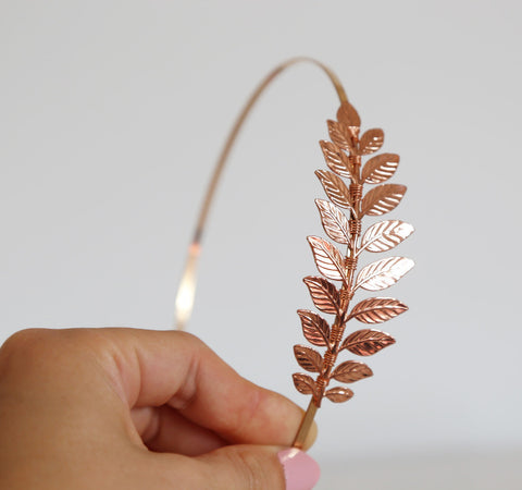 Simple Goddess Leaf Headband