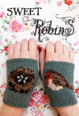 Robin Wristees Knitting Pattern PDF