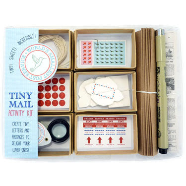 The Worlds Smallest Post Office - DIY Activity Kit