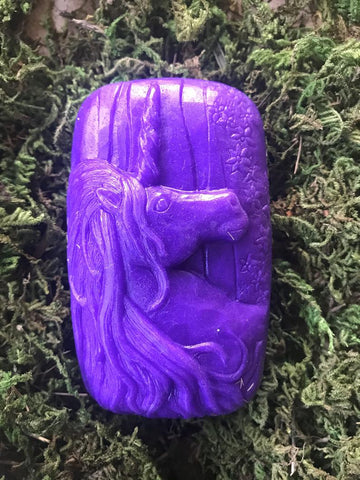 Purple Unicorn Soap