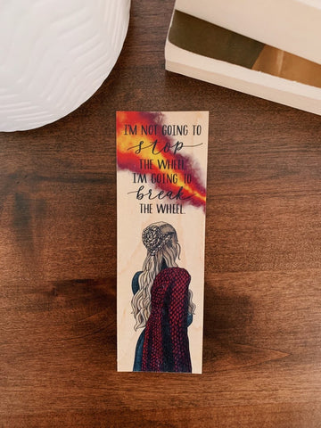 The Dragon Queen Game of Thrones Bookmark