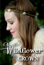 Wildflower Crown Knitting Pattern PDF
