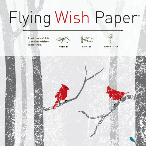 Winter Wishes - Flying Wish Paper, Large Kit