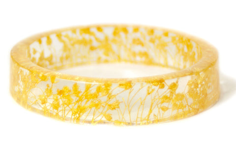 Golden Yellow Resin Bracelet