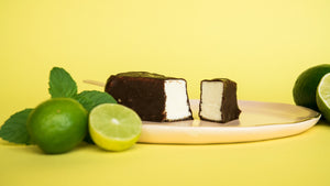 6 Key Lime Pie Chocolate-Dipped Bars