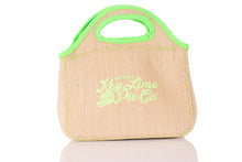 Load image into Gallery viewer, Key West Key Lime Pie Burlap Lunch Bag
