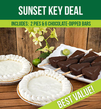 Load image into Gallery viewer, Sunset Key Deal – 2 Key Lime Pies & 6 Key Lime Bars