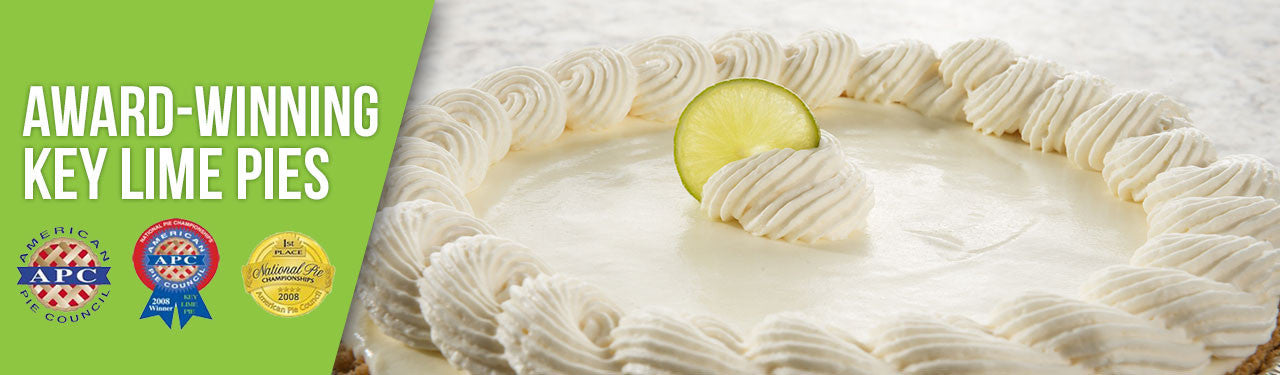 Award Winning Key Lime Pies