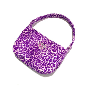 Spice girl shoulder bag - leopard purple - JCC