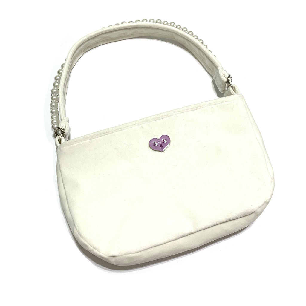 Somebody's princess shoulder bag - white - JCC