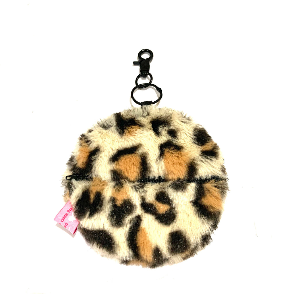 Leopard round card holder - JCC