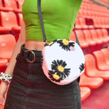 Blooming cutie crossbody bag - white - JCC