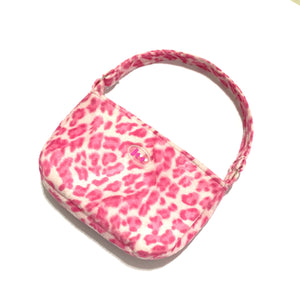 Spice girl shoulder bag - leopard neon pink - JCC