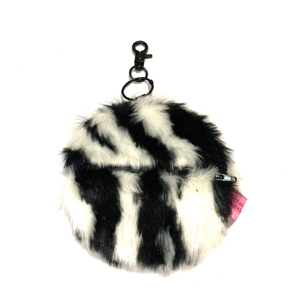 Zebra round card holder - JCC