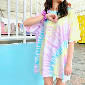 Cotton candy tie dye tee - JCC