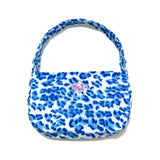 Spice girl shoulder bag - blue leopard - JCC
