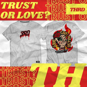 Trust or Love - White