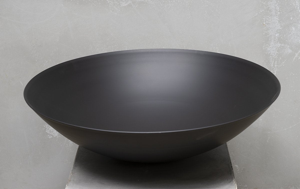 Hand Spun Fire Pit Bowl W800 x H200mm