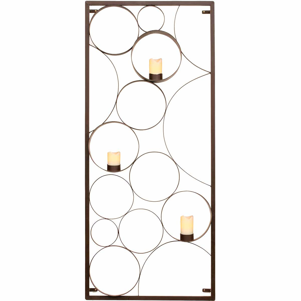 Rectangle Bubble Candle Panel