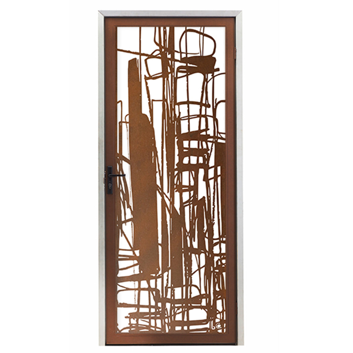Complex City Screen Door