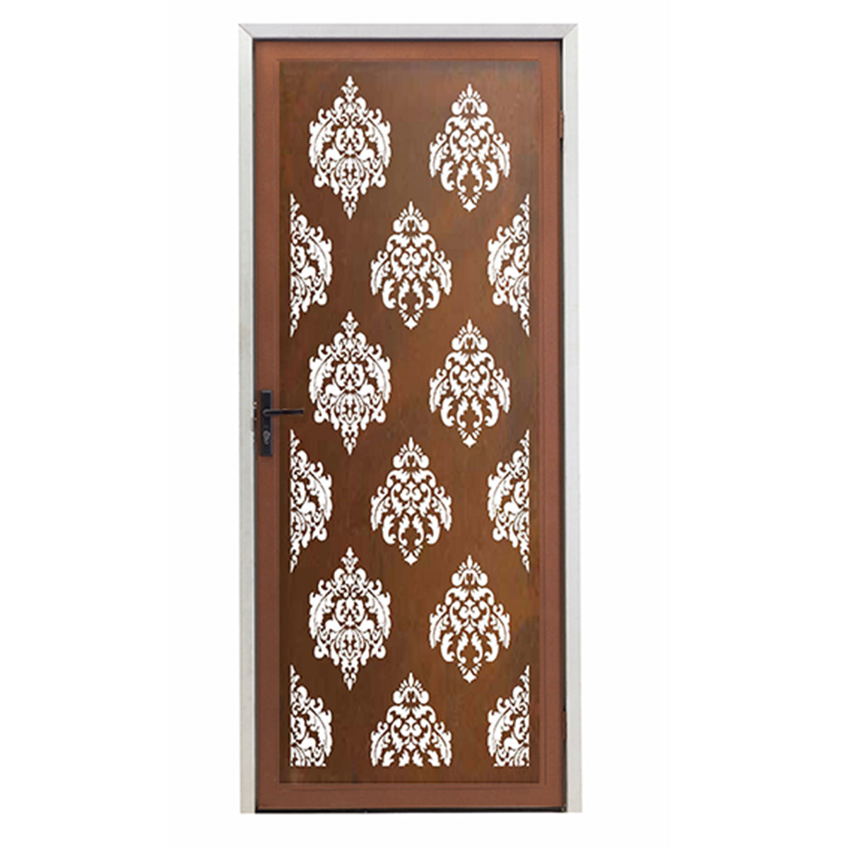Damask Screen Door