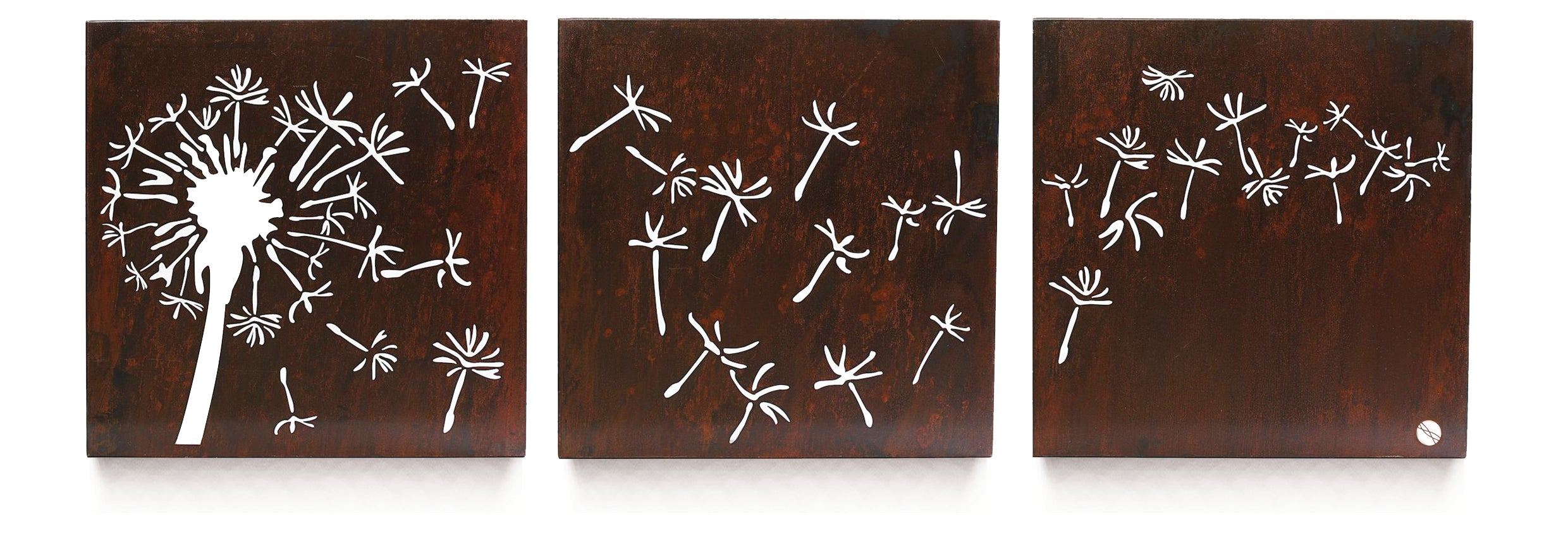 Dandelion Breeze Triptych