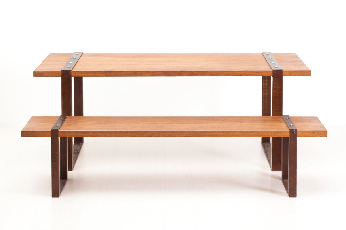 Stirrup Table & Bench