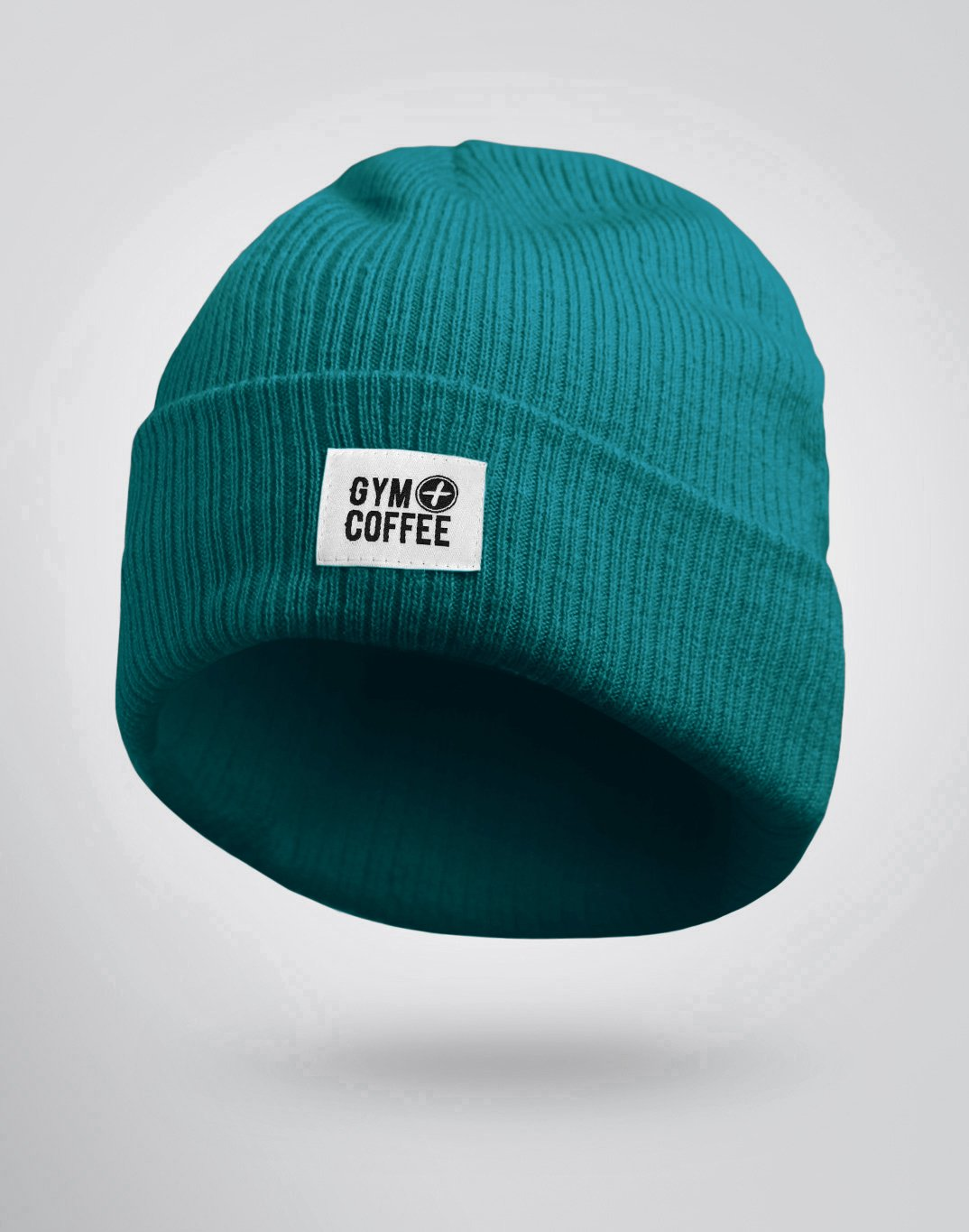 Gym Plus Coffee Beanie Deep Teal Beanie Designed in Ireland