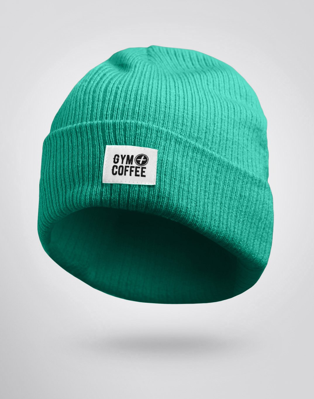 Gym Plus Coffee Beanie Sea Green Beanie Designed in Ireland