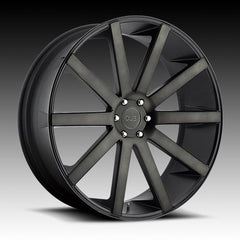 "24"" WHEELS & TIRES DUB SHOT CALLA BLACK FITS ESCALADE TAHOE SILVERADO SIERRA"