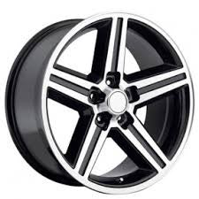 "24"" IROC 5 24X9.5+13 BLK MACHINE WHEELS & TIRES 5X127 IMPALA CADILLAC SILVERADO"