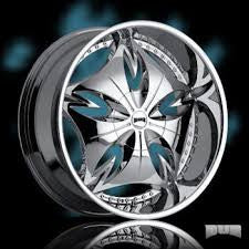 22'' dub wheels, set of 4 new 6-135 FORD TRUCKS F-150