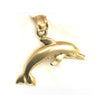 14K Yellow Gold Dolphin Pendant