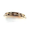 14K Open Stackable Diamond Band