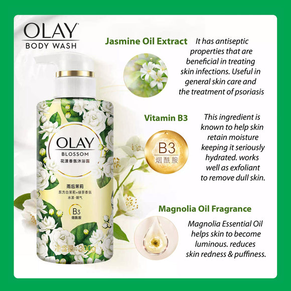 Olay Body Wash - Jasmine 360ml