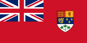 Historical Canadian Red Ensign (1921 - 1957) Polyknit Flag from Flagmart Canada