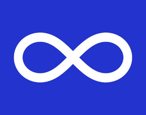 Blue Metis Flag available at FlagMart Canada