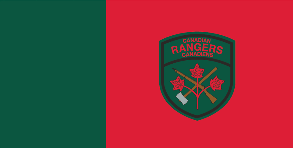 Canadian Rangers Flag