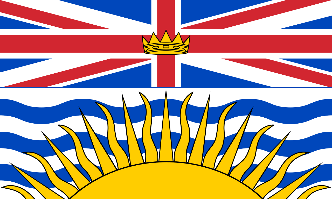British Columbia Provincial Flag available at FlagMart Canada
