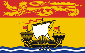 New Brunswick Provincial Flag by Flagmart Canada
