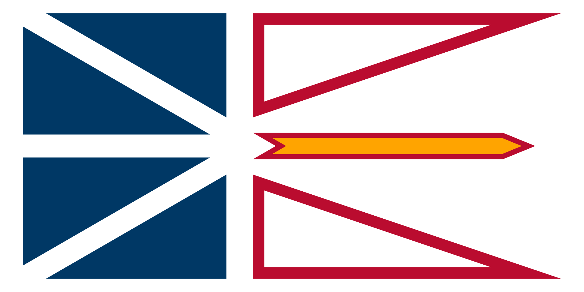 Province of Newfoundland and Labrador Flag from FlagMart Canada