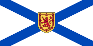 Nova Scotia Provincial Flag from FlagMart Canada