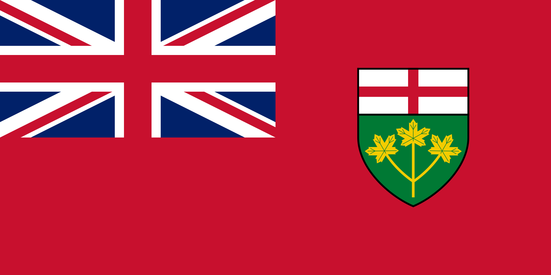Ontario Polyknit Flag from FlagMart Canada