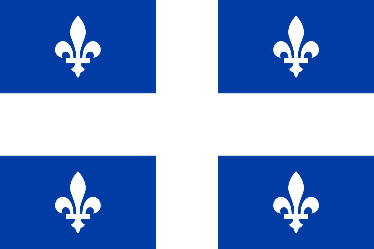 Quebec Provincial Flag from FlagMart Canada