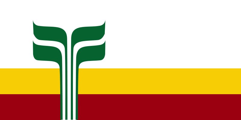 Franco-Manitoban Flag