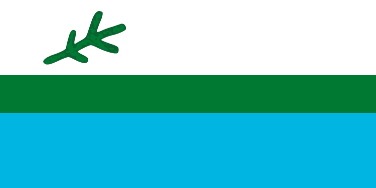 Labrador Polyknit Flag from FlagMart Canada