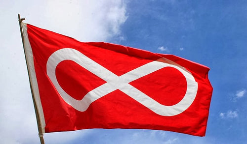 Red Metis Flag