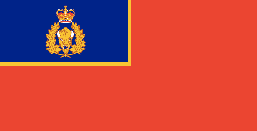Royal Canadian Mounted Police Ensign Polyknit Flag from FlagMart Canada