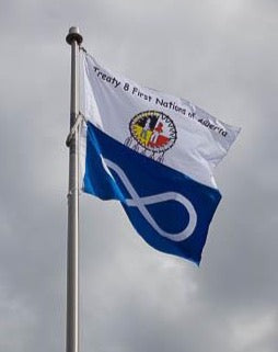 Treaty 8 Confederacy First Nations Polyknit Flag from FlagMart Canada