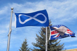 Blue Metis Flag and Treaty 6 Flag available at FlagMart Canada